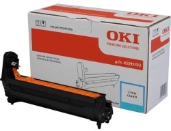 OKI - Oki MC760-45395703 Orjinal Mavi Drum Ünitesi