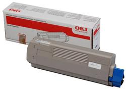 OKI - Oki MC770-45396203 Mavi Orjinal Toner Yüksek Kapasiteli