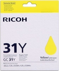 RICOH - Ricoh Aficio GC-31Y Sarı Orjinal Kartuş