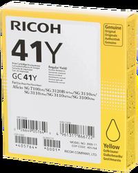 RICOH - Ricoh Aficio GC-41Y Sarı Orjinal Kartuş