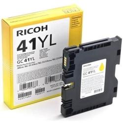RICOH - Ricoh Aficio GC-41YL Sarı Orjinal Kartuş