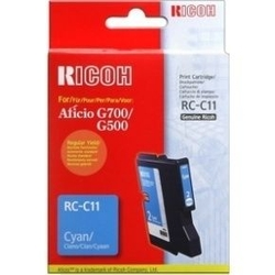 RICOH - Ricoh Aficio RC-C11 Mavi Orjinal Kartuş