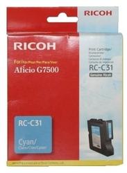 RICOH - Ricoh Aficio RC-C31 Mavi Orjinal Kartuş