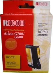 RICOH - Ricoh Aficio RC-Y11 Sarı Orjinal Kartuş