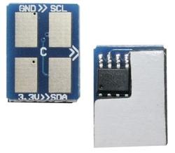 SAMSUNG - Samsung CLP-300/ST873A Mavi Toner Chip