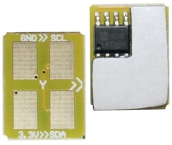SAMSUNG - Samsung CLP-300/ST945A Sarı Toner Chip