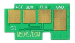 SAMSUNG - Samsung CLP-415/CLT-K504S/SU162A Siyah Toner Chip