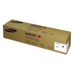 SAMSUNG - Samsung MultiXpress X4250LX/CLT-M808S/SS642A Kırmızı Orjinal Toner