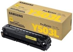 SAMSUNG - Samsung ProXpress C3010/CLT-Y503L/SU494A Sarı Orjinal Toner