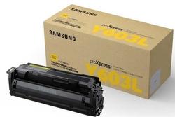SAMSUNG - Samsung ProXpress C4010/CLT-Y603L/SU557A Sarı Orjinal Toner