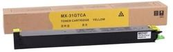 SHARP - Sharp MX-31GTYA Sarı Muadil Fotokopi Toneri