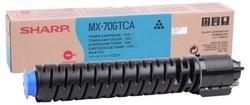 SHARP - Sharp MX-70GTCA Mavi Orjinal Fotokopi Toneri