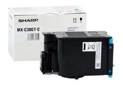 SHARP - Sharp MX-C30GTCA Mavi Orjinal Fotokopi Toner