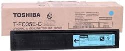 TOSHIBA - Toshiba T-FC30E-C Mavi Orjinal Fotokopi Toner