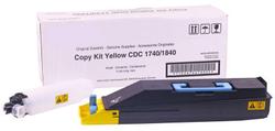 Utax - Utax CDC1740 Sarı Muadil Fotokopi Toner