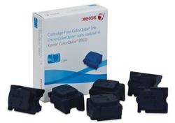 XEROX - Xerox ColorQube 8900-108R01022 Mavi Orjinal Katı Mürekkep 6Lı