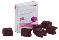 XEROX - Xerox ColorQube 8900-108R01023 Kırmızı Orjinal Katı Mürekkep 6Lı