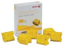 XEROX - Xerox ColorQube 8900-108R01024 Sarı Orjinal Katı Mürekkep 6Lı
