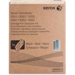 XEROX - Xerox ColorQube 9201-108R00832 Metered Siyah Orjinal Katı Mürekkep 4Lü