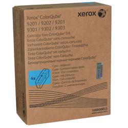 XEROX - Xerox ColorQube 9201-108R00833 Metered Mavi Orjinal Katı Mürekkep 4Lü