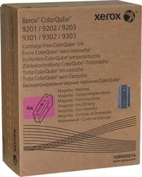 XEROX - Xerox ColorQube 9201-108R00834 Metered Kırmızı Orjinal Katı Mürekkep 4Lü