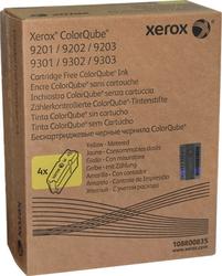 XEROX - Xerox ColorQube 9201-108R00835 Metered Sarı Orjinal Katı Mürekkep 4Lü