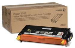 XEROX - Xerox Phaser 6280-106R01390 Sarı Orjinal Toner