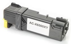 XEROX - Xerox Phaser 6500-106R01603 Sarı Muadil Toner Yüksek Kapasiteli