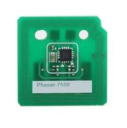 XEROX - Xerox Phaser 7500-106R01443 Mavi Toner Chip