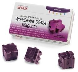 XEROX - Xerox Workcentre C2424-108R00661 Kırmızı Orjinal Katı Mürekkep 3Lü