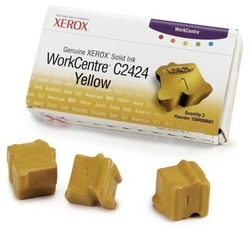 XEROX - Xerox Workcentre C2424-108R00662 Sarı Orjinal Katı Mürekkep 3Lü